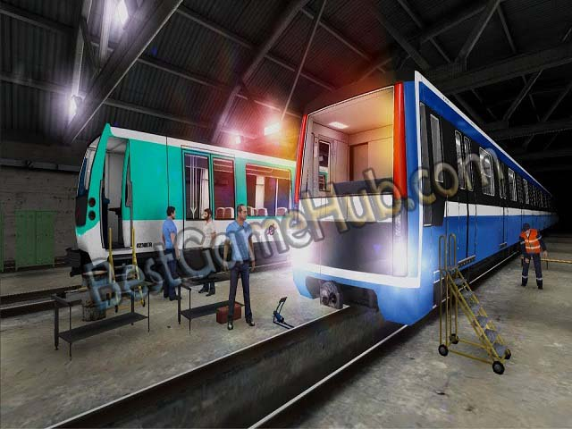 Subway Simulator Cyber Train Torrent Game