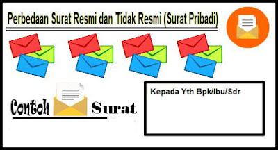 Perbedaan Surat Resmi dan Tidak Resmi Bahasa Indonesia Beserta Contoh Perbedaan Surat Resmi dan Tidak Resmi Bahasa Indonesia Beserta Contoh