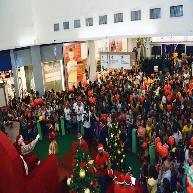 Papai Noel chega ao Cariri Garden Shopping nesta sexta-feira, 15 de novembro