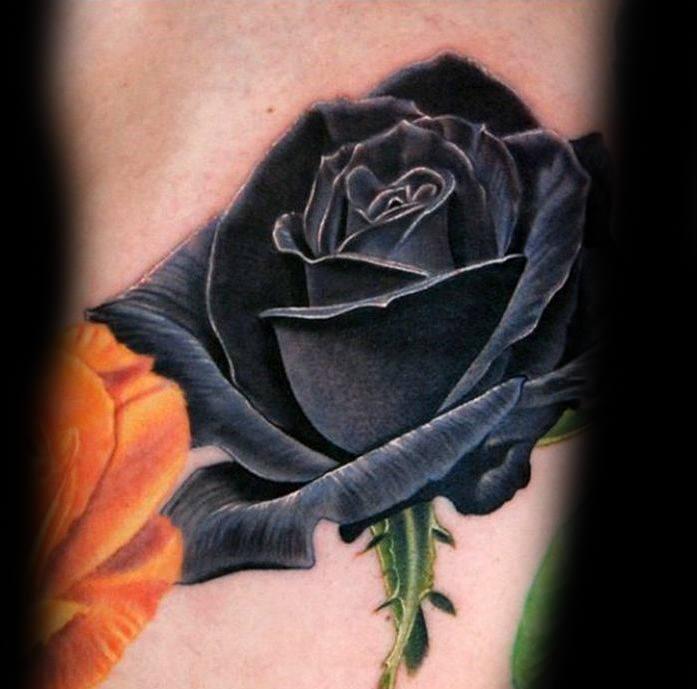 Rosen tattoo mann