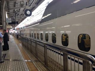 lo shinkansen in arrivo