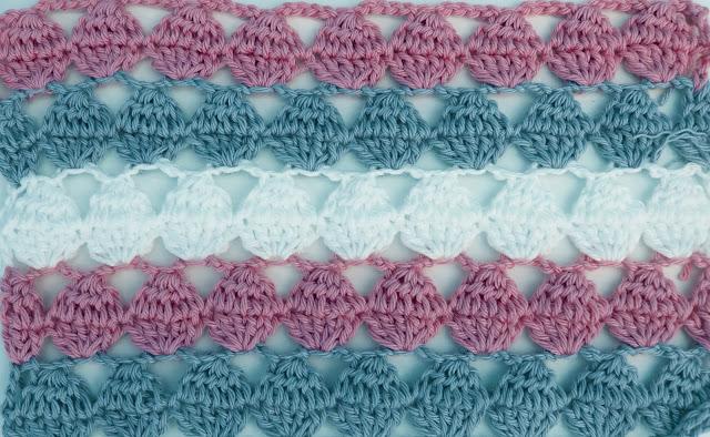 6 - Crochet Imagen Puntada calada colorida a crochet y ganchillo por Majovel Crochet
