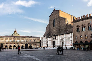 Piazza Maggiore is the hub of the historic city of Bologna