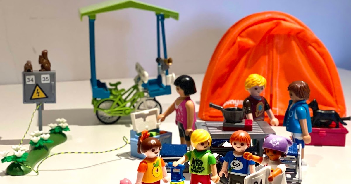 NEW A Map Holiday // Camping  Accessories // Extras Playmobil