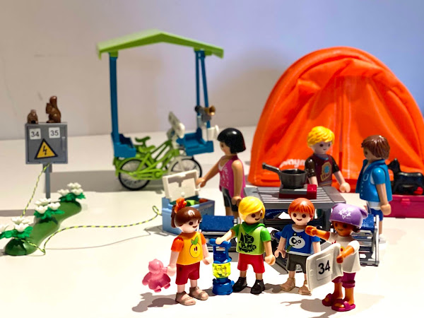 Review: PLAYMOBIL Family Camping Trip and Family Bicycle
