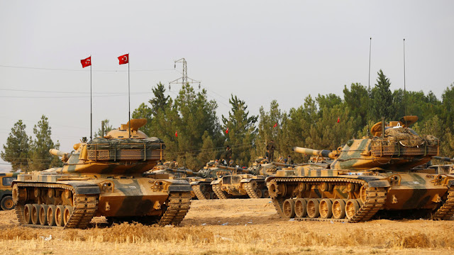 """Erdogan: Turquía está lista para comenzar su propia operación militar en Siria """"hoy o mañana"""""""