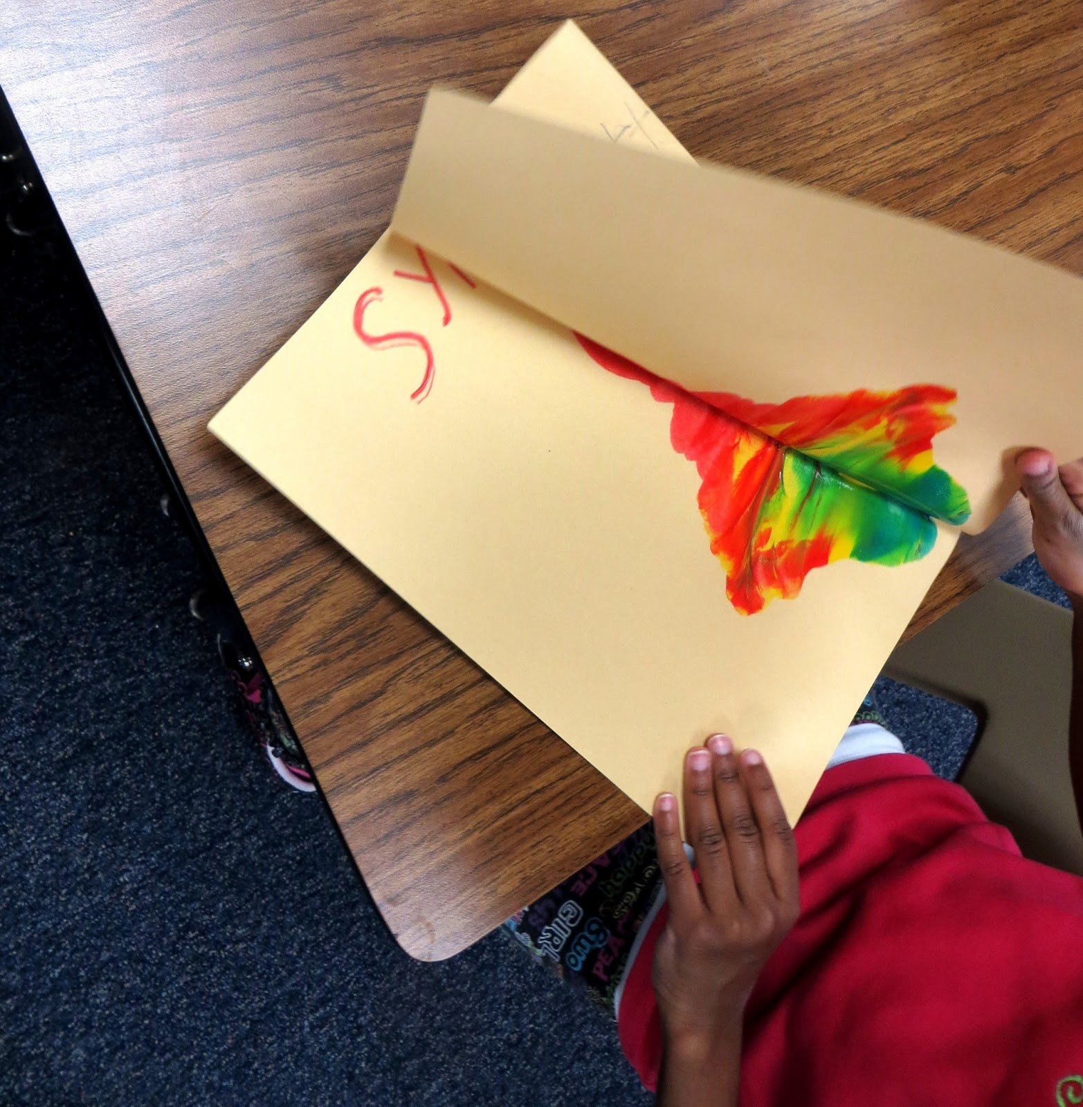 First Grade Wow Creating Symmetry And A Natural Resources