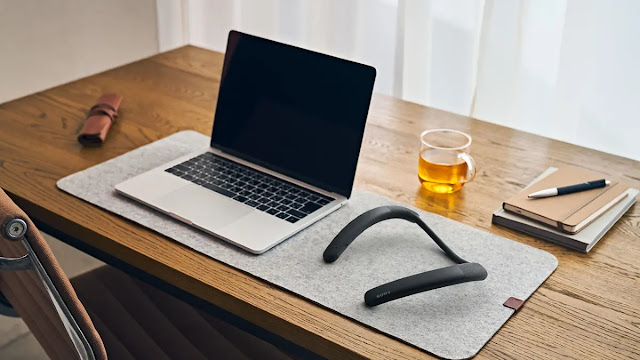 Sony launches neck speaker for telecommuting