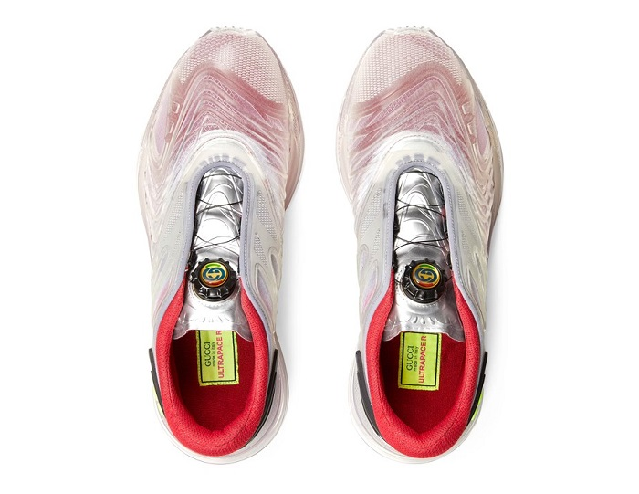 Gucci Transparent Ultrapace R Top Aerial View