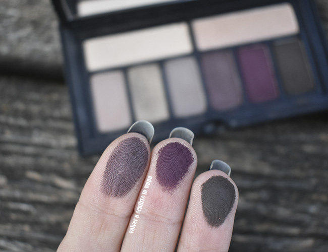 Smashbox Cover Shot Sultry Palette. review & swatches & maquillaje