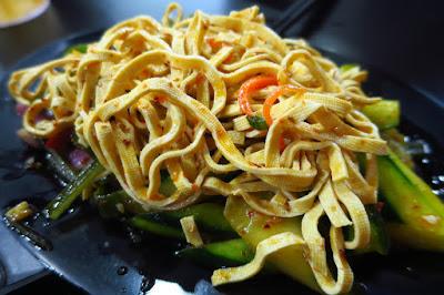 Huang Tu Di Xi'An Delights (黄土地西安小吃), tofu pickles