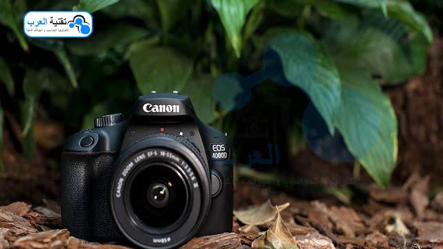 عيوب كاميرا كانون 4000d
