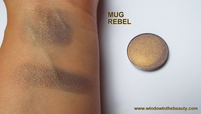 makeup geek rebel swatches