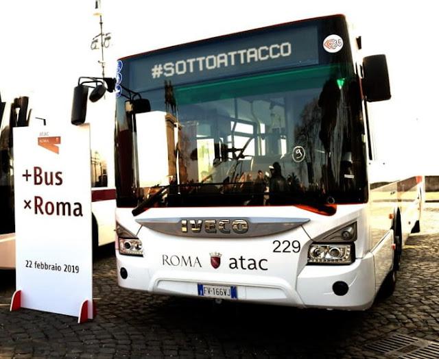 Atac, gli autisti sospesi per l'aria condizionata mancante sui bus