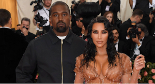 Celebrity couple, Kanye West and Kim Kardashian living separately