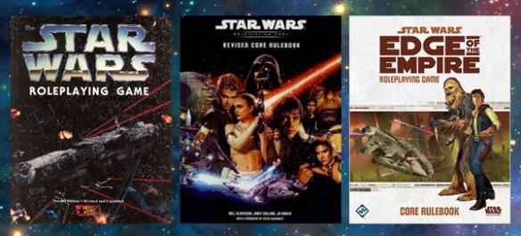 Jogo de RPG de Star Wars Edge of the Empire