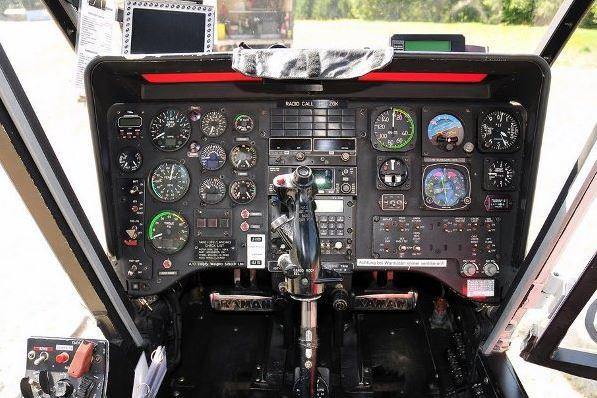 Kaman K-MAX cockpit