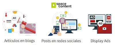 Space Content - Rentabilizar blog con posts patrocinados