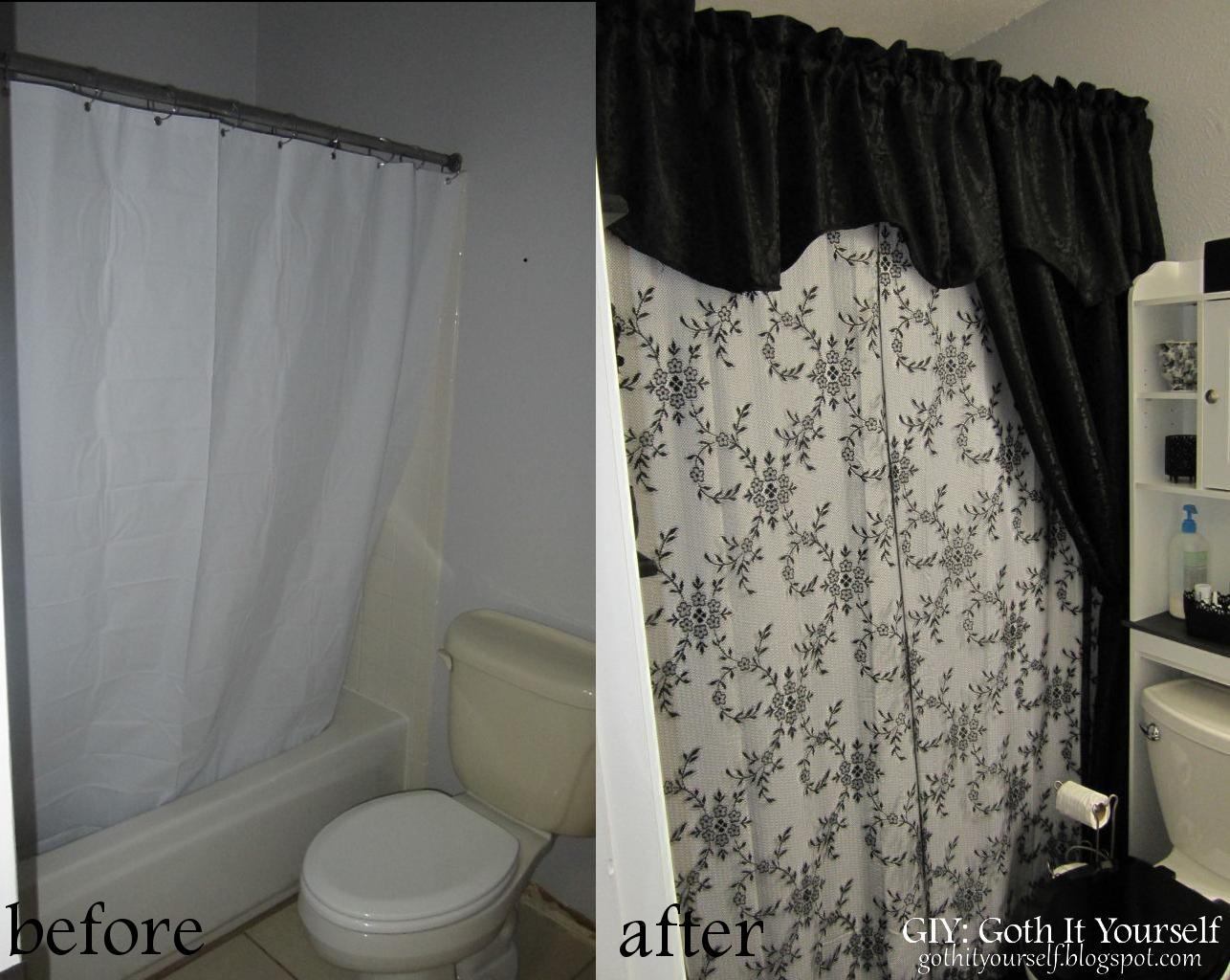 Giy goth it yourself bathroom rehab final result for Bathroom rehab