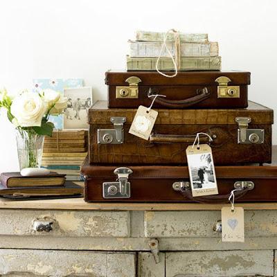 decorar con objetos vintage buscando inspiracin