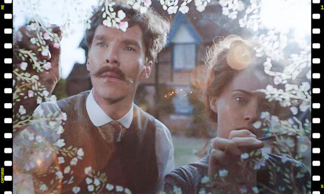Benedict Cumberbatch and Claire Foy