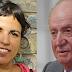 Teresa Rodríguez carga contra el rey emérito Juan Carlos de Borbón