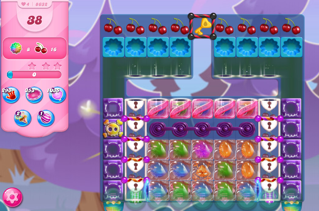 Candy Crush Saga level 8632
