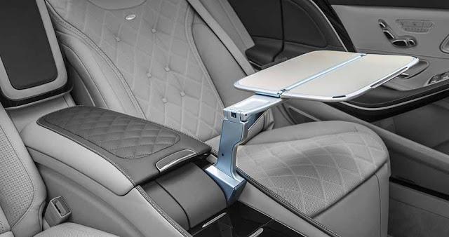 Bàn làm việc Mercedes Maybach S600 2017 thiết kế bắt mắt và tiện lợi