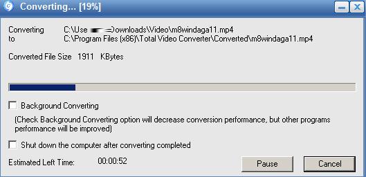 Cách sử dụng Total Video Converter 3.71 Full để đổi đuôi video  d