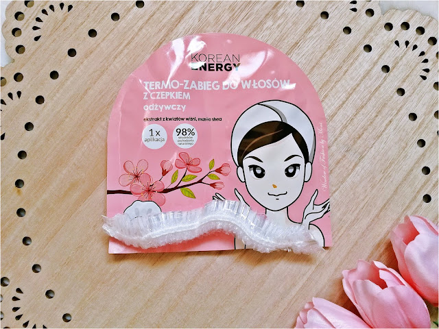 Korean Energy- maska do włosów i czepek