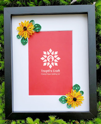 Paper Quilling Sunflower