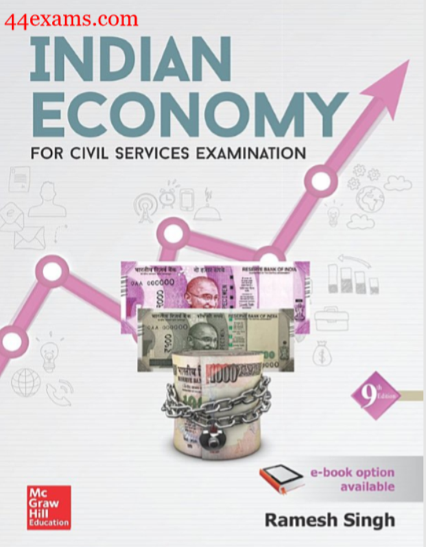Indian Economy(9th Edition) by Ramesh Singh : For UPSC Exam PDF Book