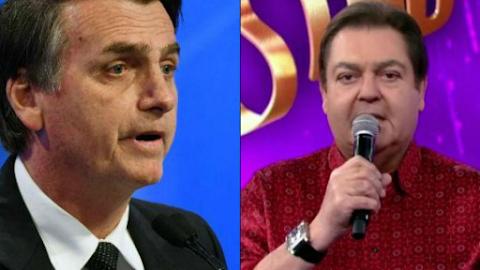 """Com Bolsonaro no poder, Faustão faz desabafo, cita """"imbecil que está lá"""" e polemiza"""