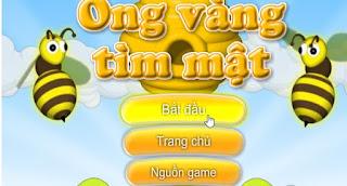 Chơi game ong vàng tìm mật
