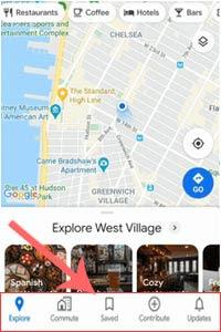 Tata Letak Baru Fitur Aplikasi Google Maps