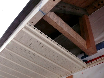 Building A House A Simple Plan Installing Soffits