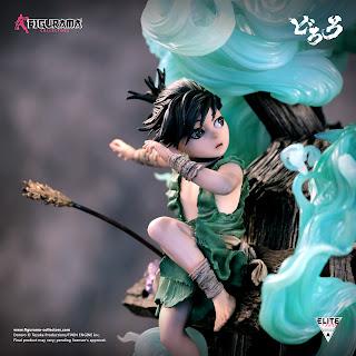 Revelada la nueva estatua DORORO & HYAKKIMARU Elite Fandom Statue de Figurama Collectors.
