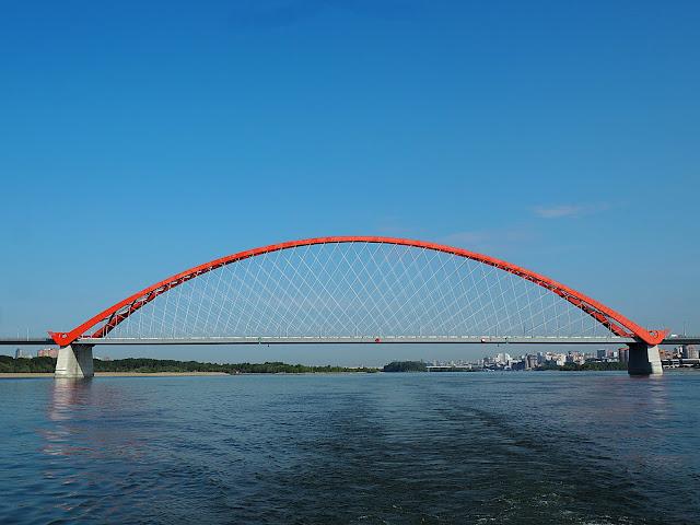 Новосибирск, Бугринский мост (Novosibirsk, Bugrinskij bridge)