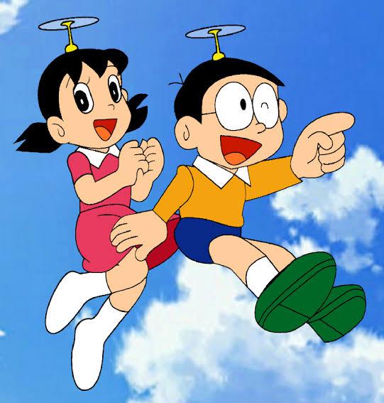 WHO ARE THOSE NOBITA AND SHIZUKA?