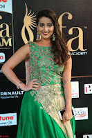 Manjusha in Beautiful Sleeveless Green Anarkali dress at IIFA Utsavam Awards 003.JPG