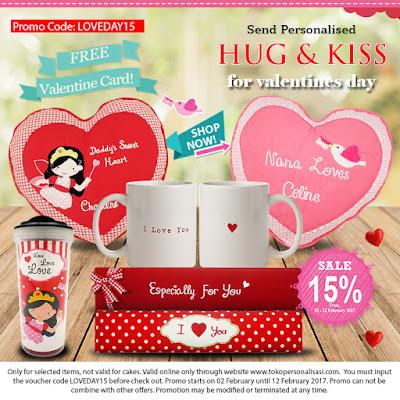 Promo Valentine Hugs and Kisses