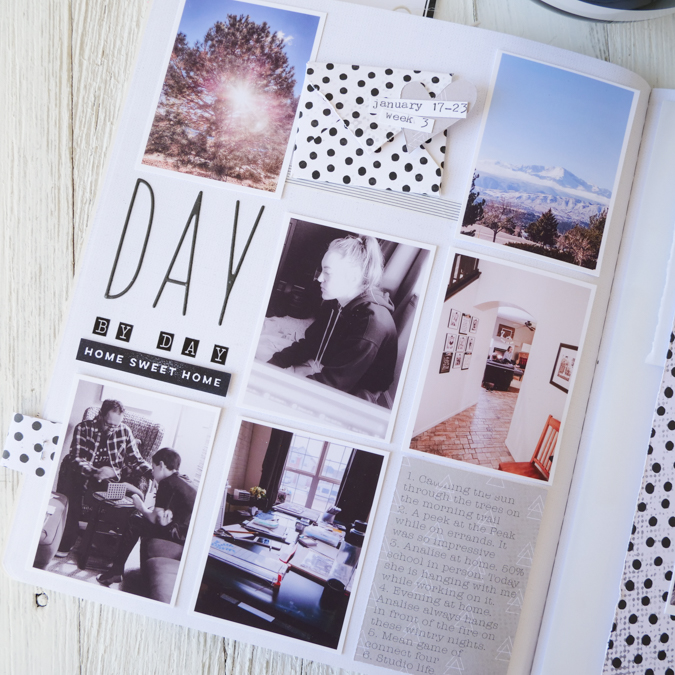 Weekly Pages 2021 | Storyline Chapters | Week #3 by Jamie Pate