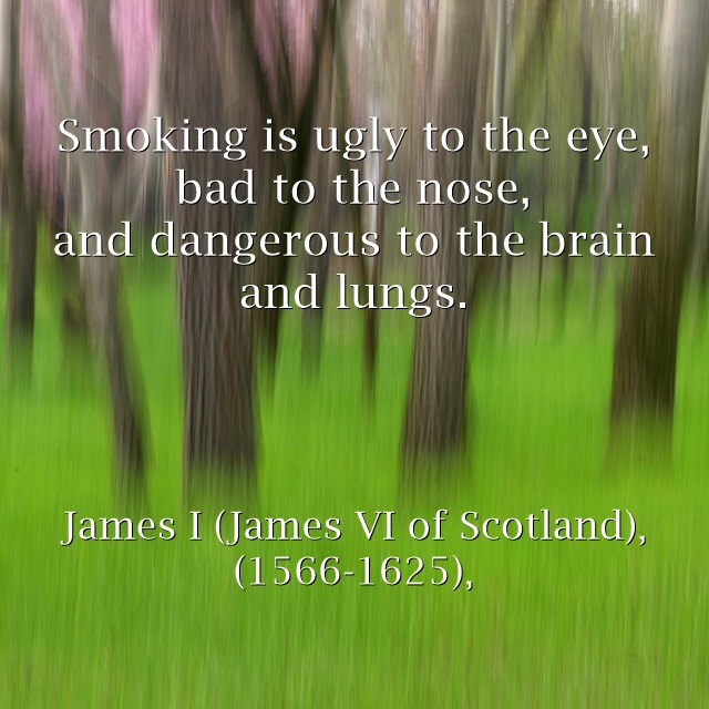 quotes about smoking