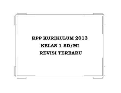 RPP K13 SD/MI Kelas 1 (Semester 1 dan 2)