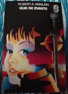 Portada del libro Hija de Marte, de Robert A. Heinlein