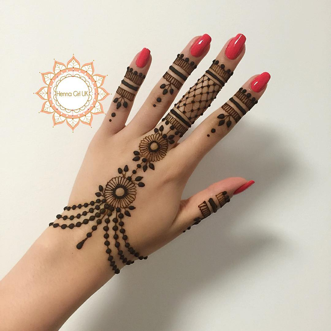 Images Of Henna Mehndi : New simple mehndi henna designs for hands buzzpk