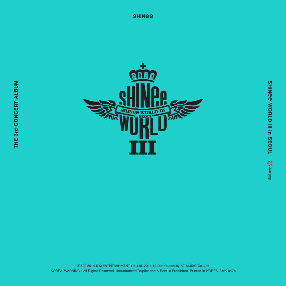 SHINee – The 3rd Concert Album 'SHINee WORLD III in SEOUL' (ITUNES PLUS AAC M4A)