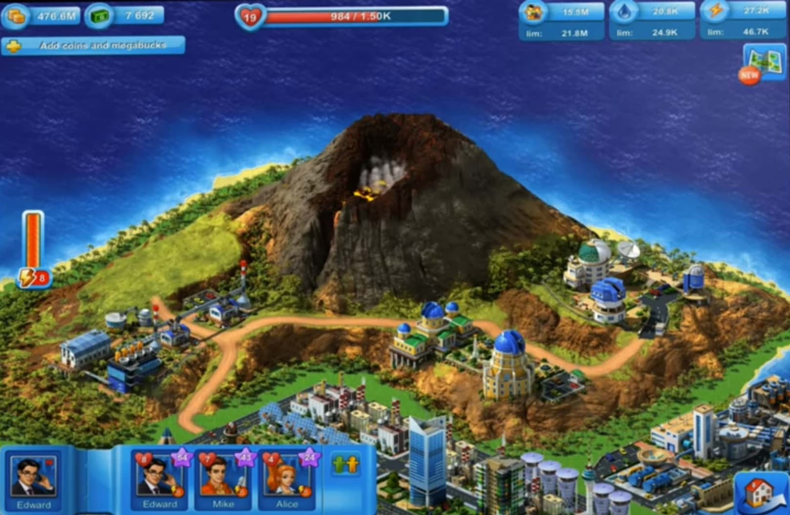 Megapolis - City Building Simulation and Urban Strategy
