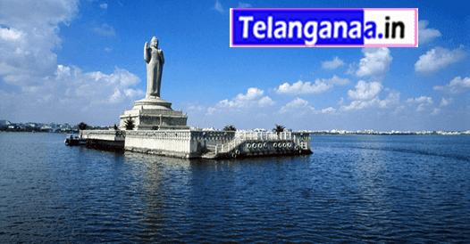 Hussain Sagar Lake in Hyderabad Telangana