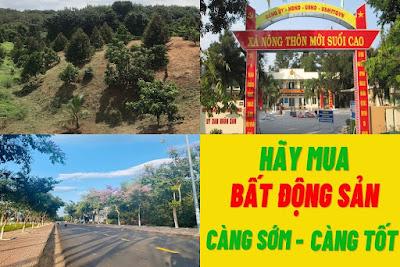 Bán đất xã Suối Cao Xuân Lộc